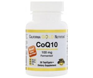 Коэнзим Q10, California Gold Nutrition, 100мг 30 капсул (США)