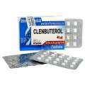Кленбутерол (Clenbuterol Balkan) 25 таб. по 40 мкг/таб.