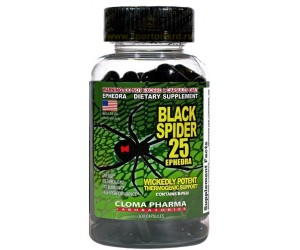 Black Spider 25 (100 капсул)