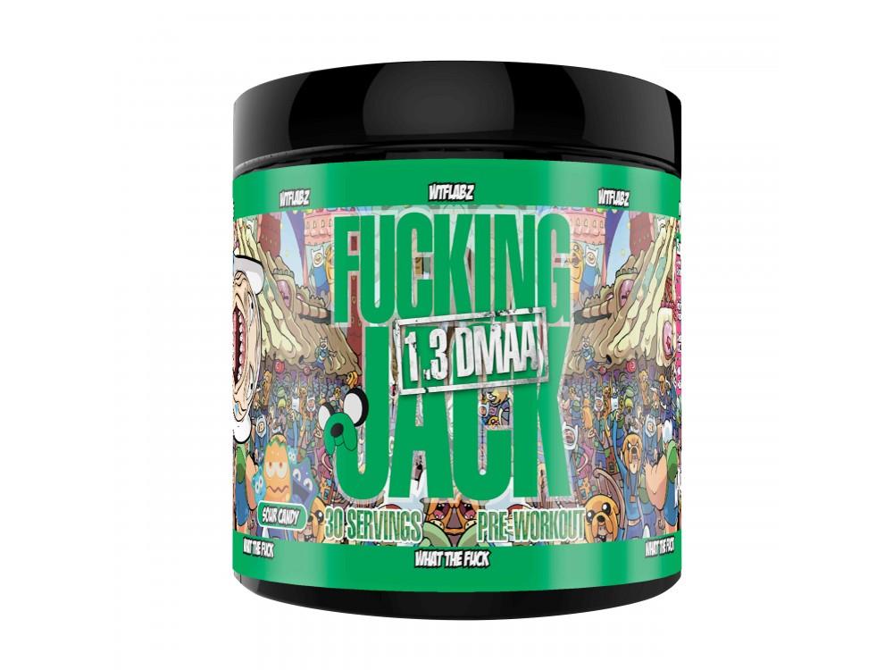 FUCKING JACK (SOUR CANDY) 30 порций